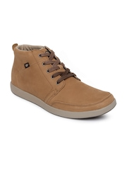 CAT Men Brown Dorrington Casual Shoes