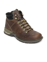 CAT Men Brown Praxis Casual Shoes