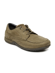 CAT Men Brown Charted Casual Shoes
