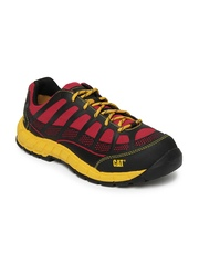 CAT Men Red & Black Streamline CT Casual Shoes