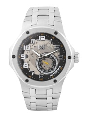 CAT Men Silver-Toned Dial Watch A6.148.11.111