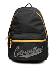 CAT Unisex Black Swept Backpack