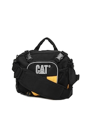 CAT Unisex Black Waist Pouch