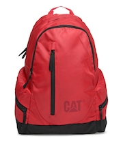 CAT Unisex Red The Project Backpack