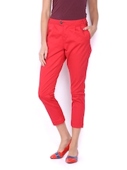 CAT Women Red Trousers