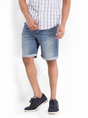 Calvin Klein Jeans Men Blue Denim Shorts