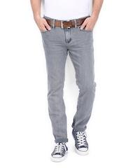Calvin Klein Jeans Men Grey Super Skinny Fit Jeans
