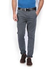 Calvin Klein Jeans Men Grey Chino Trousers