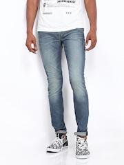 Calvin Klein Jeans Men Blue Super Skinny Fit Jeans