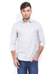 Calvin Klein Jeans Men Grey Casual Shirt