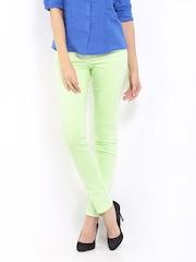 Calvin Klein Jeans Women Light Green Skinny Fit Jeans