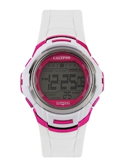 Calypso Men White Digital Watch K5611/3