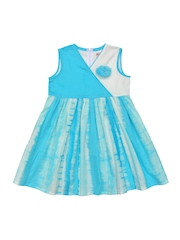Campana Girls Blue Fit and Flare Dress