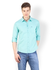 Canary London Men Green Shirt