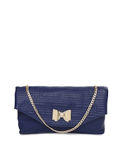 Cappuccino Blue Sling Bag