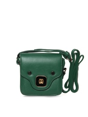 Cappuccino Green Sling Bag