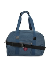 Cappuccino Women Blue Duffle Bag