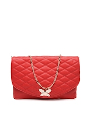 Cappucino Red Oversized Clutch