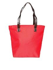 Cappucino Women Red Tote Bag