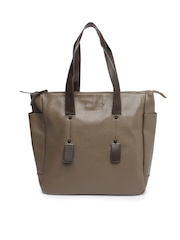 Caprese Brown Oversized Handbag