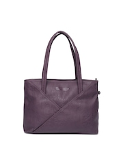 Caprese Purple Handbag
