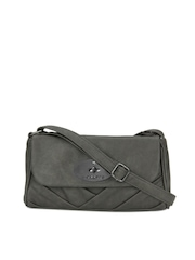 Caprese Women Grey Sling Bag
