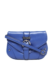 Caprese Women Blue Sling Bag