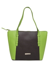 Caprese Green & Brown Handbag