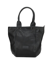 Caprese Women Black Madison Oversized Handbag