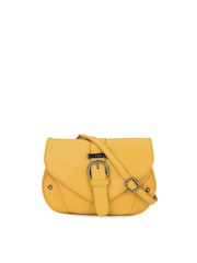 Caprese Women Yellow Sling Bag