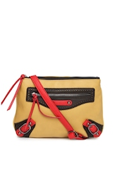 Caprese Yellow Sling Bag