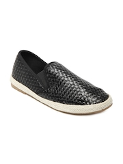 Carlton London Men Black Casual Shoes