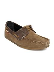 Carlton London Men Brown Boat Shoes