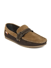 Carlton London Men Brown Loafers