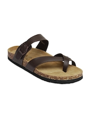 Carlton London Men Brown Sandals