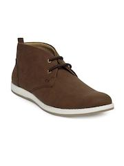 Carlton London Men Brown Casual Shoes