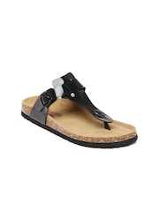 Carlton London Women Black Sandals