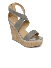 Carlton London Women Grey Wedges