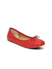 Carlton London Women Red Ballerinas