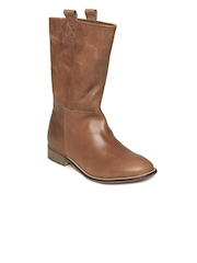 Carlton London Women Tan Brown Boots
