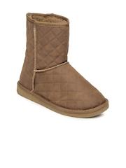 Carlton London Women Tan Brown Boots
