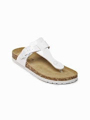 Carlton London Women White Sandals