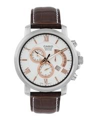 Casio Beside Men White Dial Watch BS126-WHITE-251010