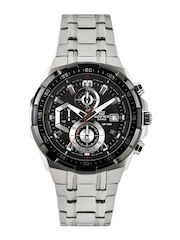Casio Edifice Men Black Dial Watch EX191