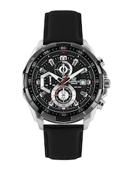 CASIO Edifice Men Black Dial Chronograph Watch EX193