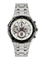 Casio Edifice Men Silver Toned Dial Watch EX192