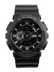 Casio G-Shock Men Black Analog & Digital Watch
