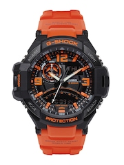 Casio G-Shock Men Black Analogue & Digital Watch G468 GA-1000-4ADR