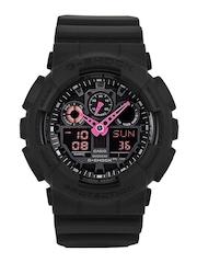 Casio G-Shock Men Black Analogue & Digital Watch