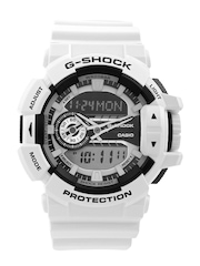 Casio G-Shock Men White Analogue & Digital Watch G549